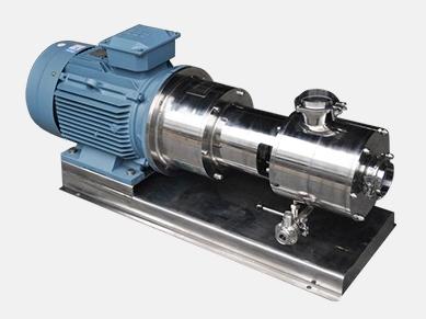 三级管线式乳化机